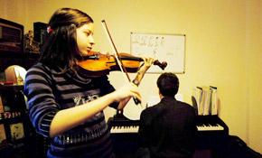 Çocuklar için Keman Dersleri itri müzik okulu