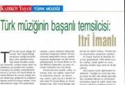 Türk müziğinin başarılı temsilcisi: Itri İmanlı